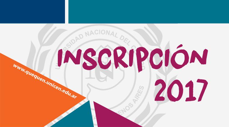 Inscripción Ciclo Lectivo 2017
