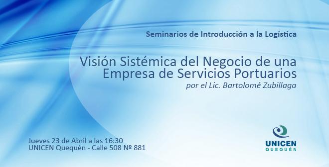 Seminario: Visión Sistémica del Negocio de una Empresa de Servicios Portuarios