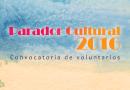 Convocatoria de Voluntarios Parador Cultural