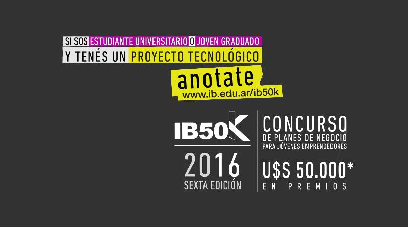 Concurso de planes de negocios IB50K