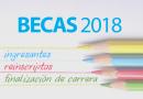 Becas UNICEN ciclo lectivo 2018
