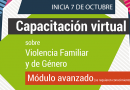 Capacitación Virtual en Prevención y Atención de la Violencia Familiar y de Género