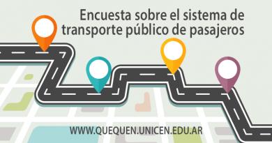 UNICEN Quequén lanza encuesta para determinar el nivel de servicio del sistema de transporte público de pasajeros