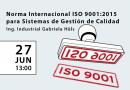 Introducción a la Norma Internacional ISO 9001:2015 para Sistemas de Gestión de Calidad