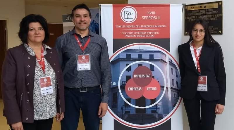 Estudiantes y Docentes de Logística participan en el XVIII Congreso SEPROSUL 2018