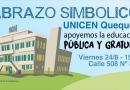 Abrazo a la Educación Pública en Quequén