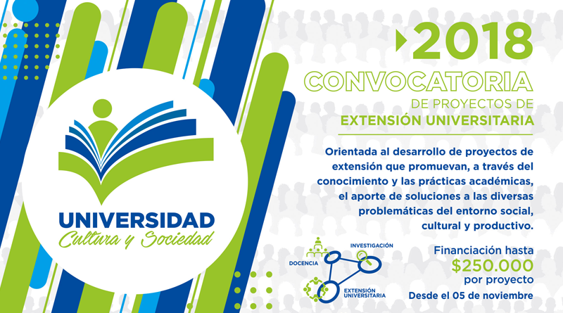 """Nueva edición de la Convocatoria """"Universidad, Cultura y Sociedad"""""""