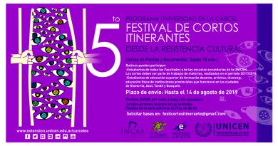 5to Festival de Cortos Itinerantes: desde la resistencia cultural