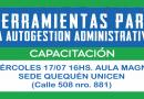 Capacitación: Herramientas para la autogestión administrativa