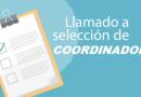 LLAMADO A SELECCIÓN DE COORDINADOR