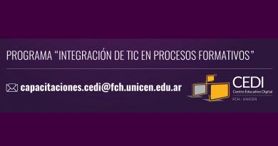 Cursos virtuales para estudiantes UNICEN | Inscripción abierta